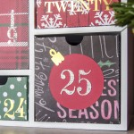 Silhouette Shadow Box Advent Calendar