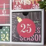 Silhouette Shadow Box Advent Calendar