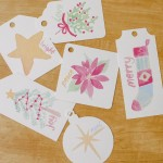 Free Printable Watercolor Gift Tags for Christmas