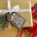 Rustic Stained Wood Gift Tags
