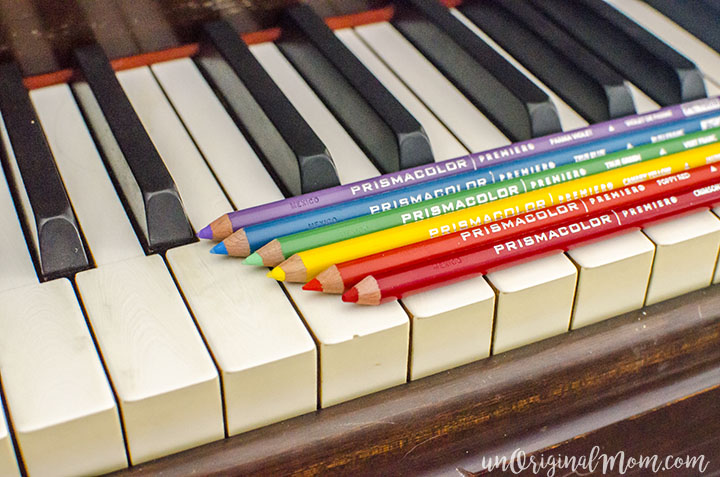 Looking for quality colored pencils? These Prismacolor pencils are a great upgrade from using your kids cheapo set.