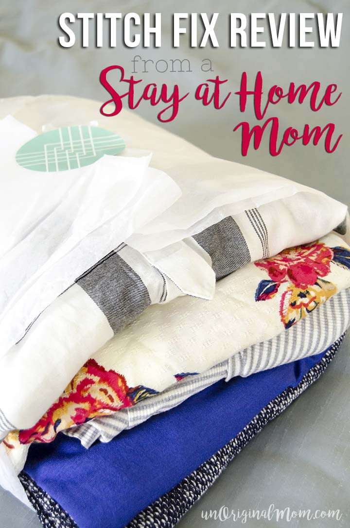 Honest Stitch Fix review from a stay at home mom on a budget, and a really great tip for your first fix.