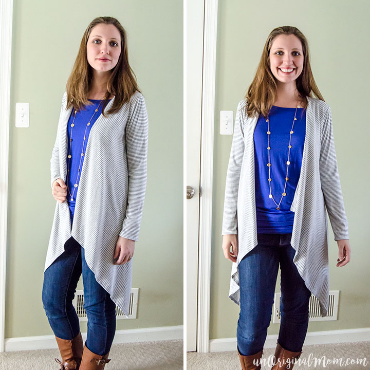 Stitch Fix Review: Ellaine Open Cardigan
