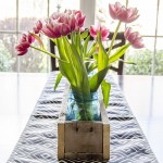 DIY Wood Pallet Box Centerpiece