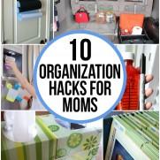 10 Organization Hacks for Moms