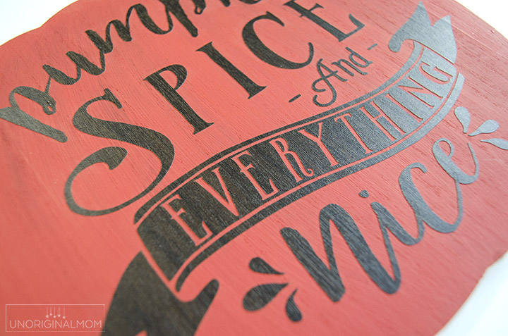 Trying out Silhouette's new wood vinyl - plus a free cut file! #silhouette