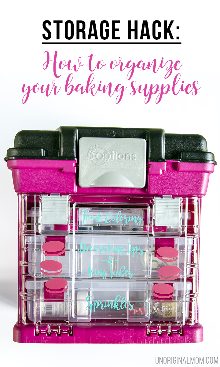How To Organize Cake Decorating Supplies