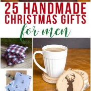 25 Handmade Christmas Gifts for Men