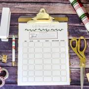 Free Printable Christmas Gift Planning List