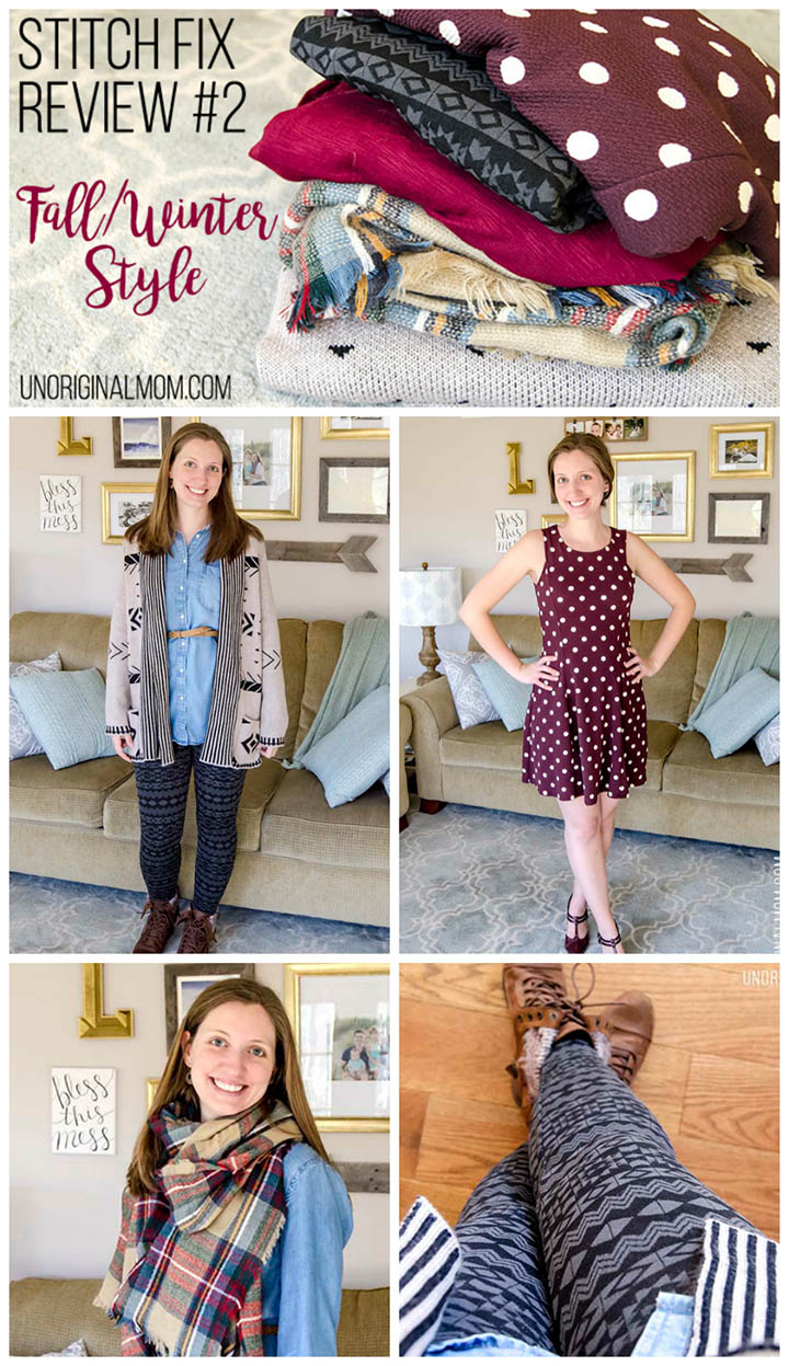 Fall/Winter Stitch Fix Review from a Stay at Home Mom...so much cute stuff!