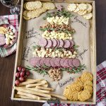 Easy Christmas Tree Cheeseboard + Holiday Entertaining Tips