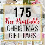 175 Free Printable Christmas Gift Tags