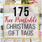 175 Free Printable Christmas Gift Tags