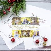 Glitter Christmas Cards