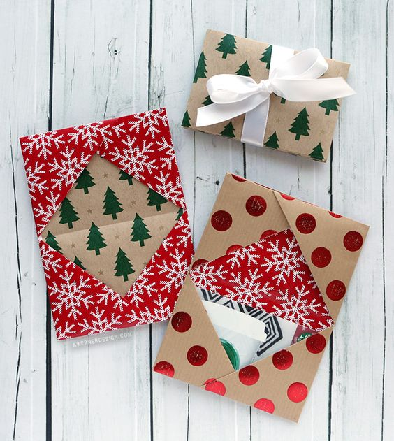 Unique Gift Ideas For Christmas: 10 Unique Gift Card Wrapping Ideas