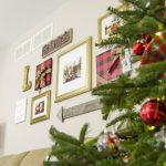 How to Decorate a Gallery Wall for Christmas