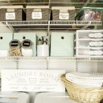Multi-Purpose Laundry Closet Organization Solutions
