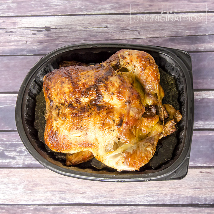 Stock your freezer with shredded chicken using a rotisserie chicken - great tips! | Rotisserie chicken meal prep | freezer meal prep | Sams Club Rotisserie Chicken