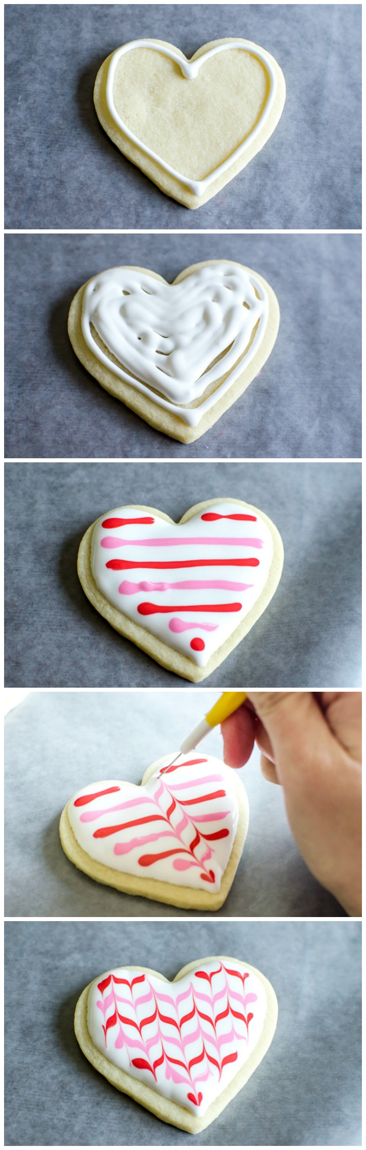 "Oh so cute - cookie bouquets for Valentine's Day with decorated heart shaped cookie pops. Plus a free ""Galentine's Day"" printable tag!"