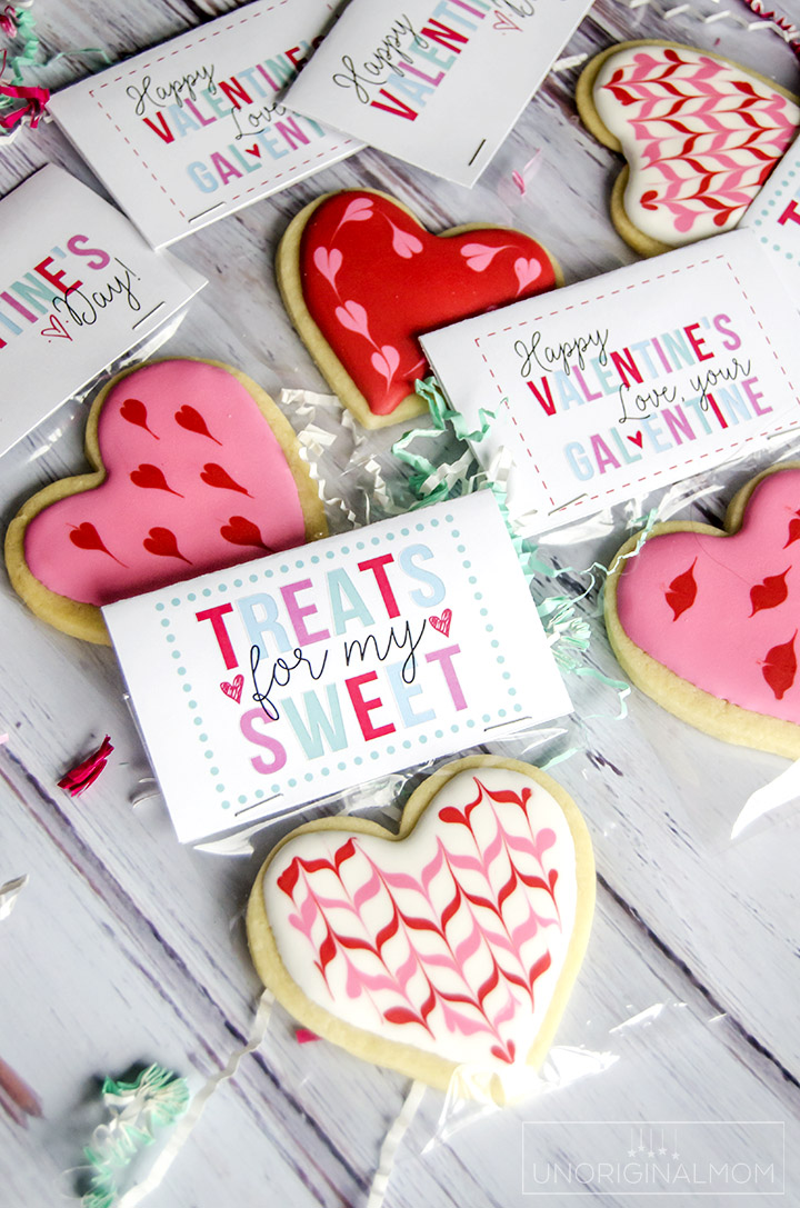 Free Valentine S Day Treat Printables Unoriginal Mom