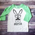 """Hopster"" Easter Shirt with Free Cut File"