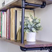 ORC #3 – Industrial Farmhouse Pipe Shelves