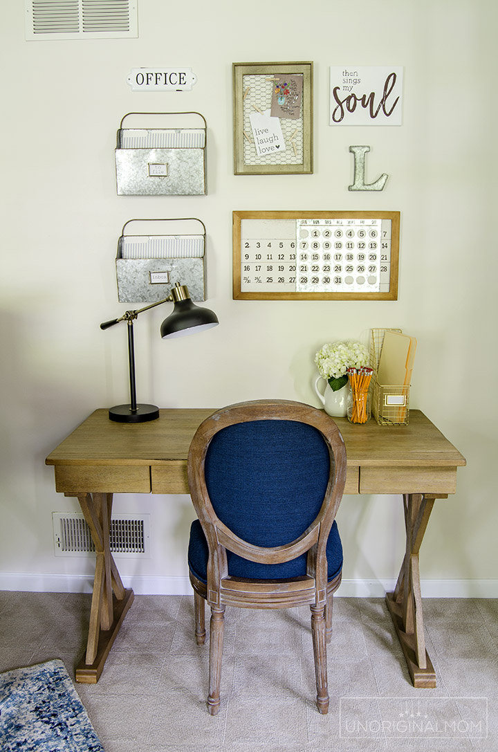 Beautiful Fixer Upper Style Industrial Farmhouse Office And Music Room Makeover