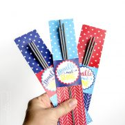 Silhouette Print-and-Cut 4th of July Sparkler Tags