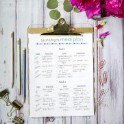 How to Meal Plan Your Whole Summer in 5 Easy Steps