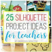 25 Silhouette Project Ideas for Teachers