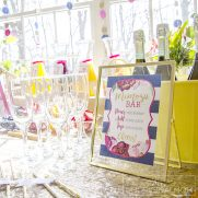 How to Create a Bridal Shower Mimosa Bar