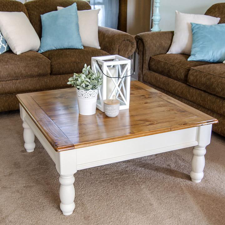 Awesome Farmhouse Coffee Table Makeover Unoriginal Mom Camellatalisay Diy Chair Ideas Camellatalisaycom