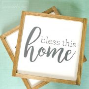 Farmhouse Style Sign Painting Party