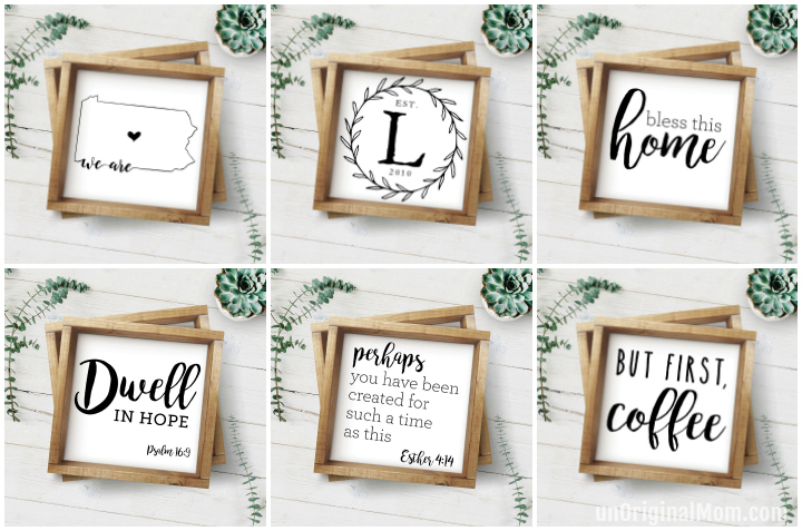 How to host a sign painting party to make farmhouse style painted signs. So much fun! | sign painting party | farmhouse signs | ladies craft night | craft party | craft night ideas | sip n paint party