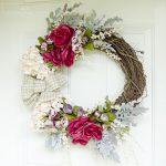 Easy No-Glue Fall Wreath Tutorial