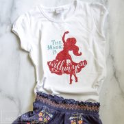 Elena of Avalor Shirt + Free Cut File