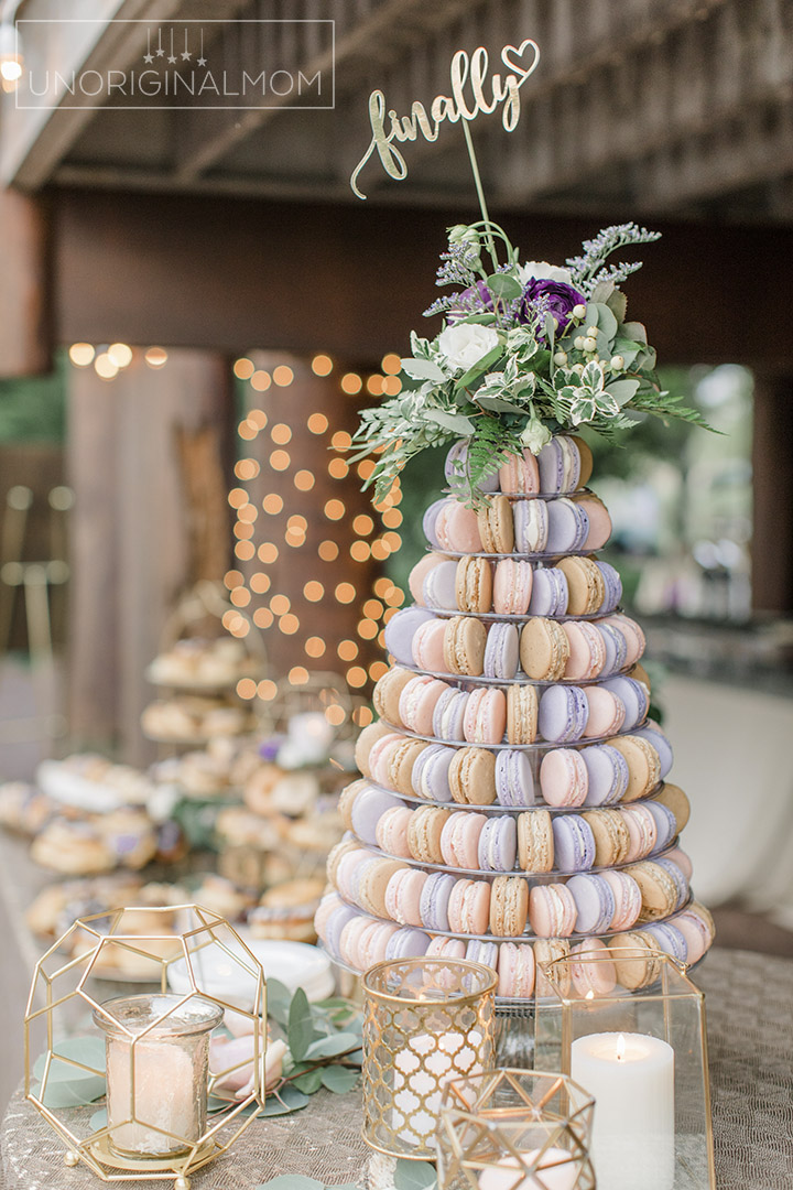 macarons wedding cake macaron tower for a wedding unoriginal 16969