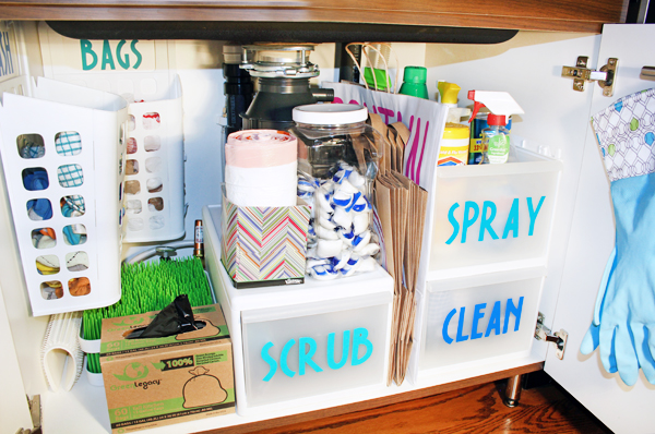 10 Brilliant Under The Sink Organization Ideas Unoriginal Mom