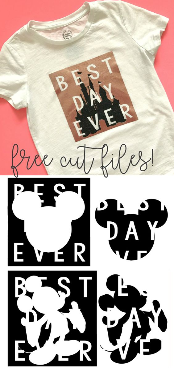 6e5ddd67 Best Day Ever – 3 different designs from A Girl and a Glue Gun