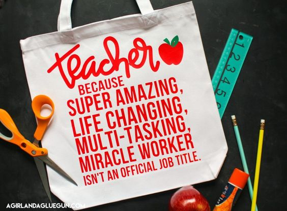 Diy Teacher Gift Ideas To Make With Your Silhouette