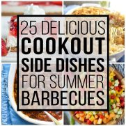 25 Delicious Cookout Side Dishes for Summer Barbecues
