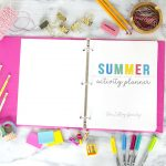 Printable Summer Planner + Free Summer Calendar