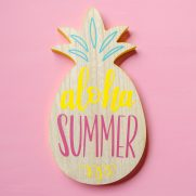 Aloha Summer Hand Lettered Cut File