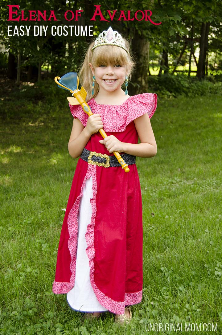 DIY Elena of Avalor costume for Halloween or a trip to Disney. Easy enough for beginning sewers!
