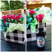 Beer Bouquet Tutorial – Beer Gift Idea for Men!