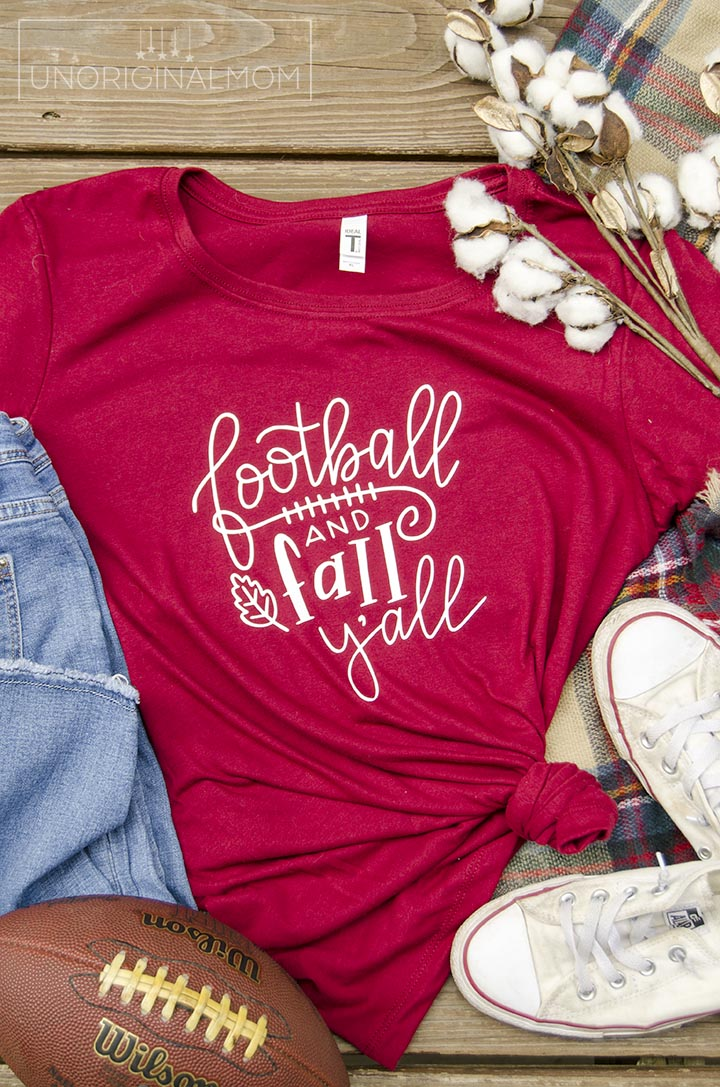 Football and Fall Y'all cut file for Silhouette Studio and SVG. Super cute fall cut file!