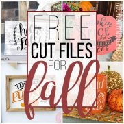 Free Cut Files for Fall