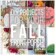 Fall Front Porch DIY Ideas