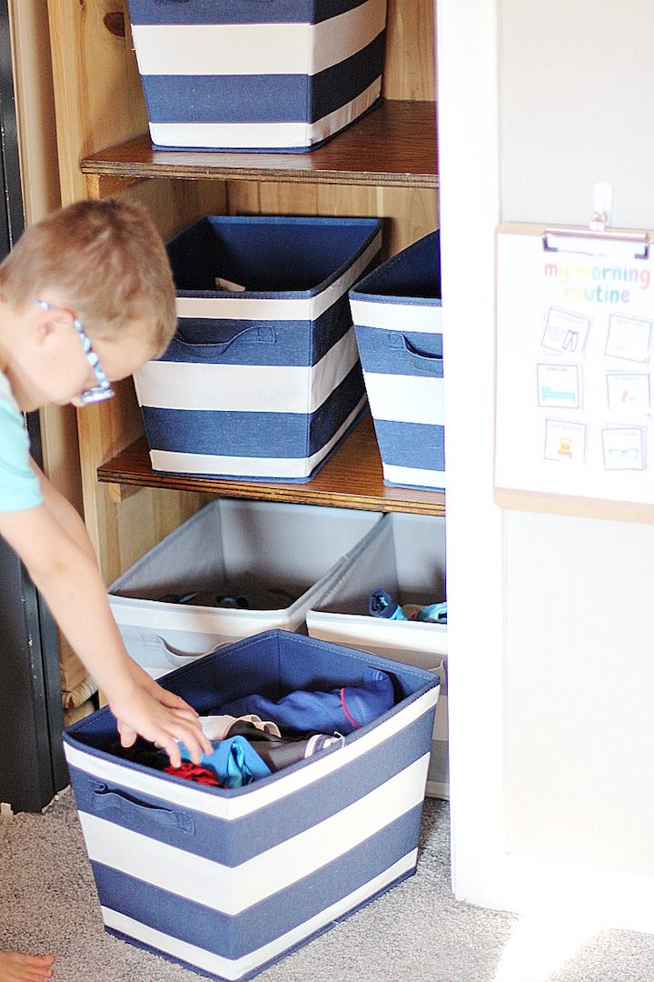 Organizing tips for fall - follow these simple tips to refresh your organization for the season! #organizing #fall