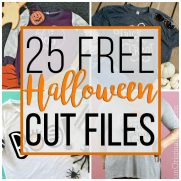 25 Free Halloween Cut Files